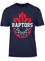 Toronto Canada T Shirt Raptors Tribute Canadian Flag Tee