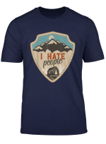 I Hate Menschen Leben Ist Besser Um Der Lagerfeuer Shirt