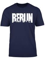 Berlin Skyline Shirt Stadt Tee Fur Stadttour Geschenk