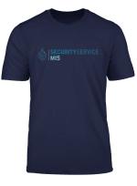 Security Service Military Intelligence Mi5 Uk Spy T Shirt
