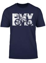 Cool Vintage Bmx Racing Bike Fan Tshirt Girls Gift Boys Kids