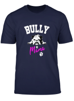 Damen Bully Mama Englische Bulldogge Lustiges Hunde Frauchen Oeb T Shirt