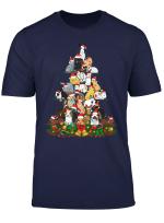 Christmas Bunny Tree Xmas Noel Decoration Gift Rabbit Funny T Shirt