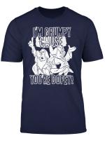 Disney Snow White Grumpy Cause You Re Dopey Graphic T Shirt
