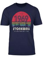 Pride Shirt 50Th Anniversary Stonewall 1969 Was A Riot Lgbtq T Shirt