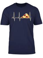 Pizza T Shirt Lustig Pepperoni Pizza Herzschlag Shirt