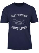 Bestefreunde Furs Leben Hunde Und Menschen Hundelbesitzer T Shirt