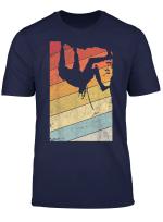 Klettern Shirt Jahrgang Bouldern T Shirt