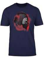 Star Wars Rise Of Skywalker Kylo Ren Helmet Damage T Shirt