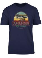 Fatherhood Like A Walk Shirt In The Park Dad Retro T Shirt