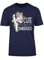 Cute Gefahrliche Karate Taekwondo Shirt Madchen Jungen Funny Geschenke