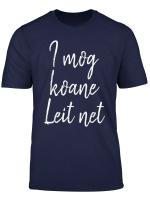 Ich Hasse Menschen Witziger Spruch Im Bayrischen Dialekt T Shirt