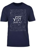 Wurzel 121 11 Jahre Alt T Shirt Geschenk 11 Geburtstag