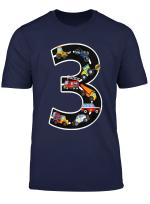Kinder Geburtstagsshirt 3 Jahre Fahrzeuge Jungen 3 Geburtstag T Shirt