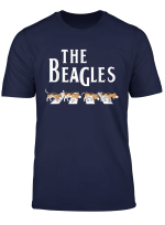 The Beagles Funny Beagle Owner Gift Dog Music Lover Outfit T Shirt