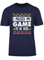 Gamer Christmas Ugly Sweater Nerd Weihnachten T Shirt