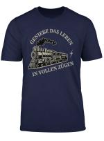 Triebfahrzeugfuhrer Eisenbahnfans Gleisfahrzeuge Lokomotive T Shirt