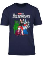 Funny Bull Terrier Dog Lover Gift Bullvengers For Women Men T Shirt