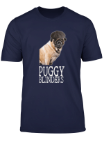 Funny Pug Lover Dog Face Peaky Life Retro Vintage T Shirt