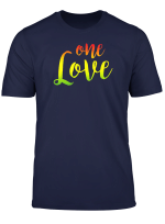One Love Rasta Reggae Roots Clothing T Shirt Tee No War
