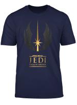 Star Wars Jedi Fallen Order Golden Logo T Shirt