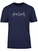 Volleyball Herzschlag T Shirt Sport Volleyball Team Shirts