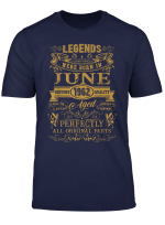 Legends Were Born In June 1962 T Shirt 57Th Birthday Gifts