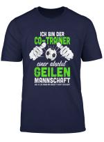Herren Fussball Co Trainer Coach Lustiges Fussballclub Geschenk T Shirt