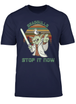 Vintage Seagulls Bird Lover Stop It Now Funny Seagulls T Shirt