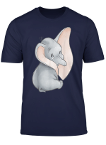 Disney Dumbo Classic Big Ears Cute Portrait T Shirt