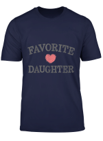 Favorite Daughter Heart Distressed Vintage Faded T Shirt