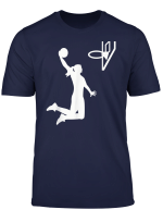 Basketball Girl Woman T Shirt