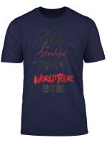 Beautiful Deep Pink 2019 Tour Trauma Fan T Shirt