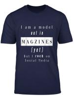 Model Social Media T Shirt