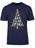 Dalmatian Noel Xmas Tree Cool Christmas Dog Love T Shirt