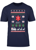 Emt Ugly Christmas Sweater T Shirt