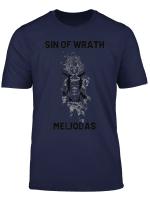 Seven Deadly Sins T Shirt Meliodas Sin Of Wrath Anime Shirt