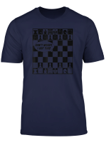 Checkerboard Black White Dont Worry I Got This Chess Board T Shirt