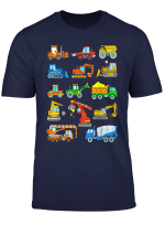 Construction Excavator Shirt For Boys Girls Men And Women