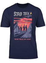 Star Trek Explore Strange New Worlds Fan Art Graphic T Shirt