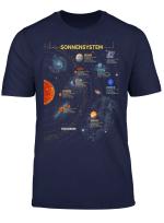 Sonnensystem T Shirt Super Geschenk Fur Space Geeks