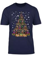 Funny Doberman Christmas Tree Costume Xmas Dog Lovers Gift T Shirt