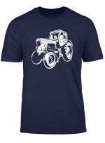 Landwirt Traktor Belarus Trecker Bauer T Shirt