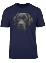 Black Labrador Retriever T Shirt