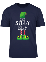 Silly Elf Matching Family Group Christmas Gift Pajama T Shirt