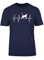 Kater Katze Katzchen Heartbeat Herzschlag T Shirt Geschenk