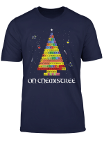 Oh Chemistree Periodic Table Colorful Chemistry Tree T Shirt