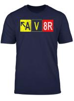 Captain Pilot Aviation Plane Flight Aircraft Cockpit Gift T Shirt