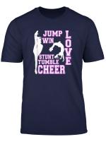 Cheerleading Zitate Love Stunt Tumble Cheerleader T Shirt
