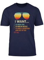 Funny Music Lover Gift I Want It All Music T Shirt